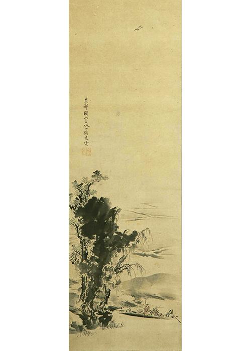 円山応挙 春郊渡舟図 | 古美術瀬戸