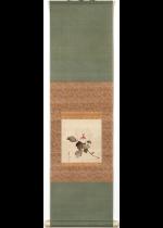 松村景文 木槿図 小品