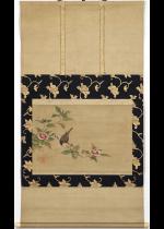 [:ja]東本願寺十八世従如上人 花卉小禽図[:en]Junyo / Bird and flowers[:]