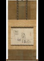 [:ja]上田公長 唐人宿図[:en]Ueda Kocho / At a lodge[:]
