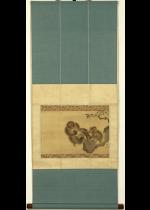 [:ja]森狙仙 蜜蜂猿[:en]Mori Sosen / Monkeys and a honey-comb[:]