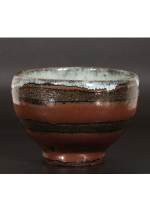 [:ja]浜田庄司 柿釉茶碗[:en]Hamada Shoji / Tea bowl[:]