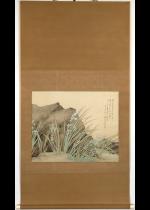 松林桂月 幽香図 大幅